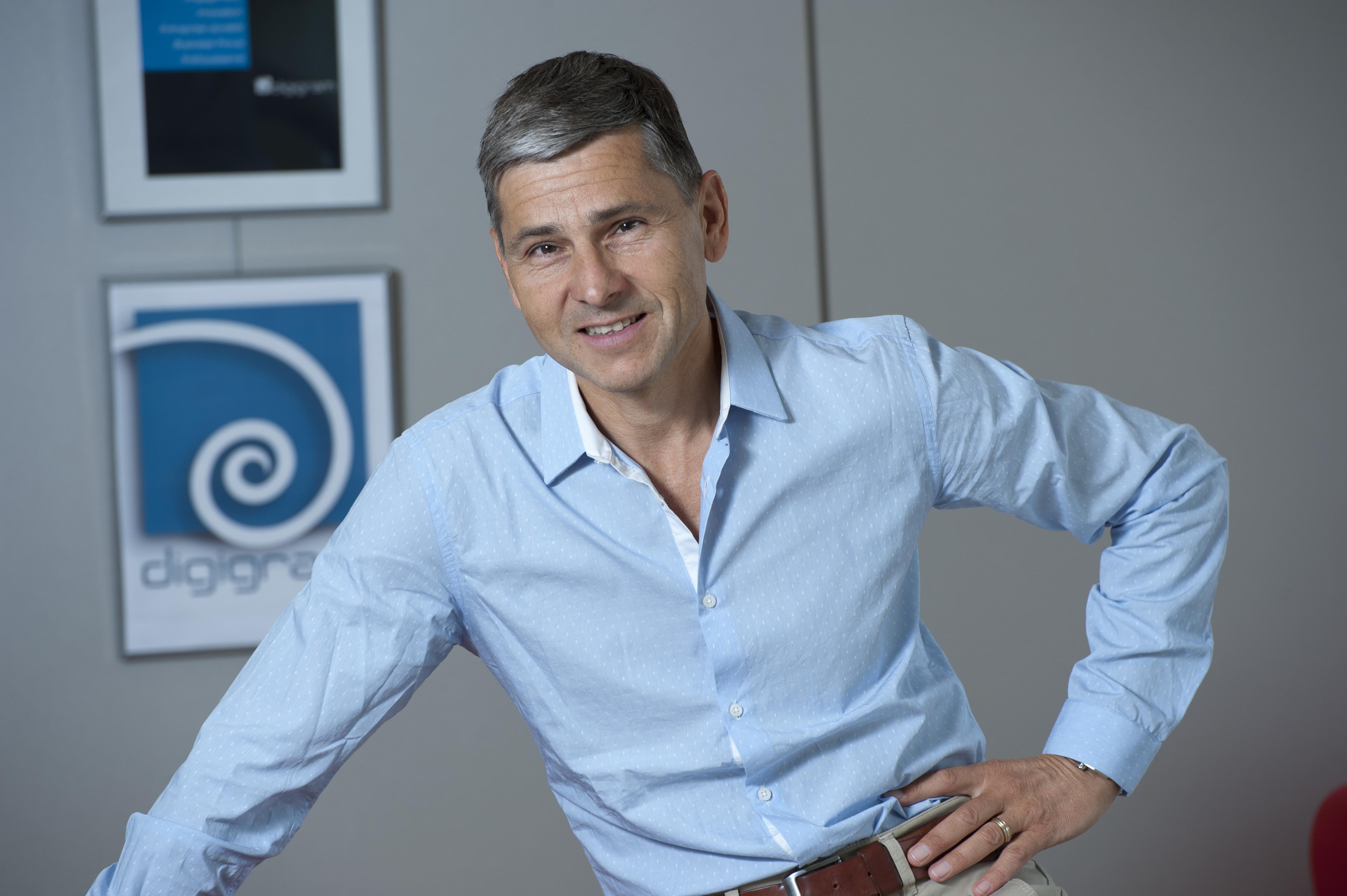 Philippe Delacroix Président du Directoire de Digigram, société présente au Salon de la Radio les 8, 9 et 10 février