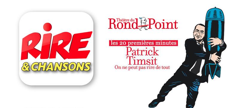 Patrick Timsit sur Rire & Chansons