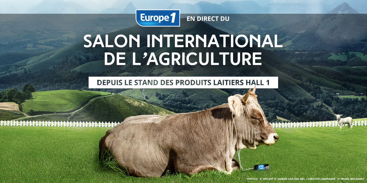 Europe 1 au salon de l 39 agriculture for Porte v salon de l agriculture