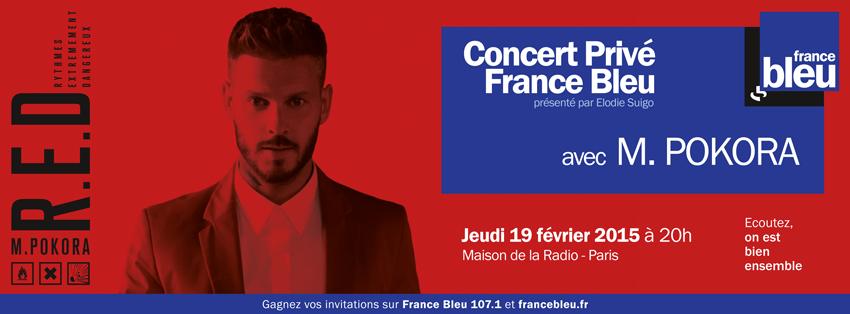 France Bleu : un Concert Privé de M.Pokora