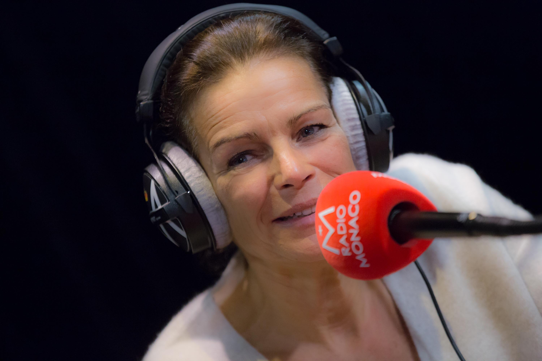 S.A.S. la Princesse Stéphanie en direct sur Radio Monaco