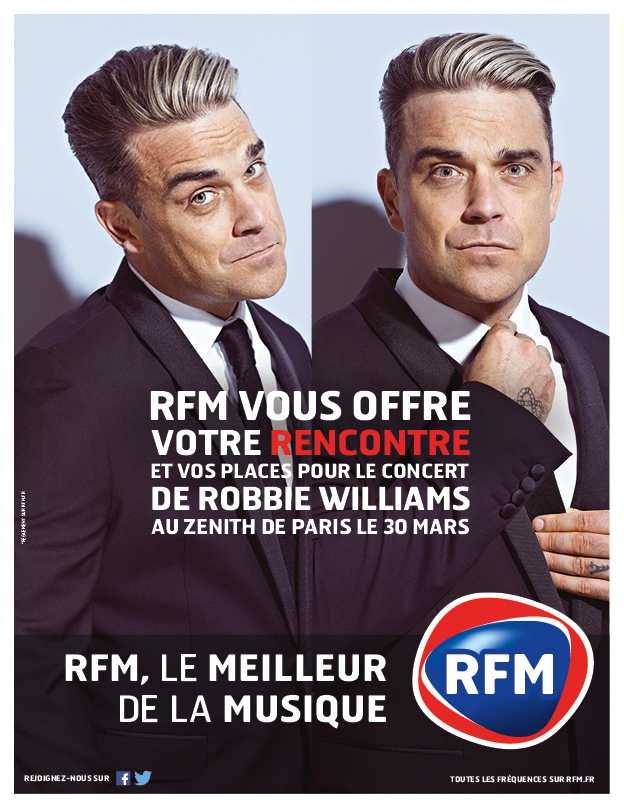 RFM offre une rencontre avec Robbie Williams