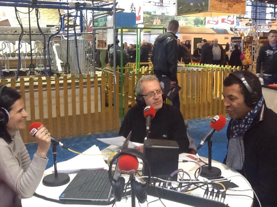 Sud radio se montre au salon de l 39 agriculture - Salon agriculture adresse ...
