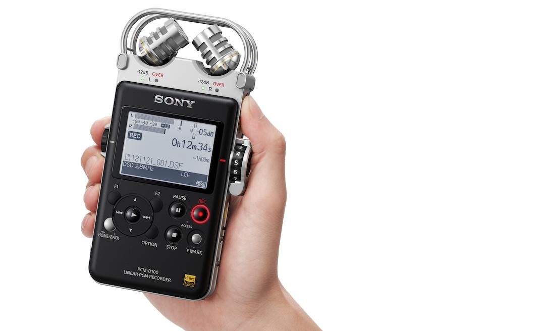 Le PCM-D100 de Sony se positionne en tête des ventes