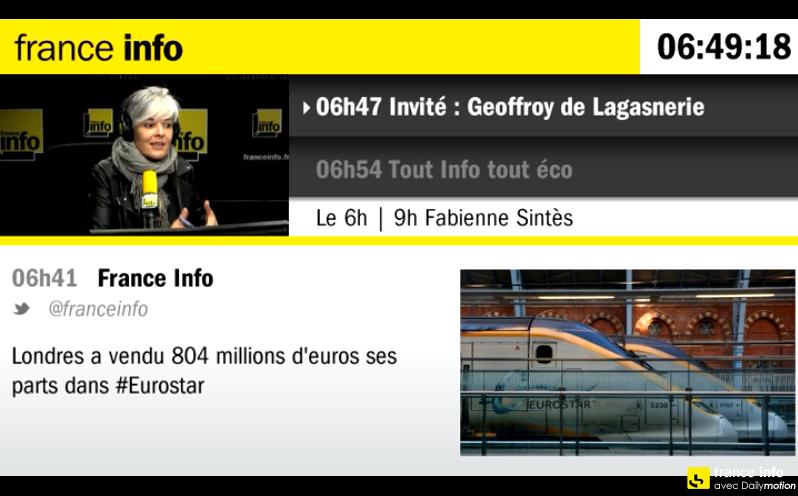 Désormais, le Live de France Info ça se regarde