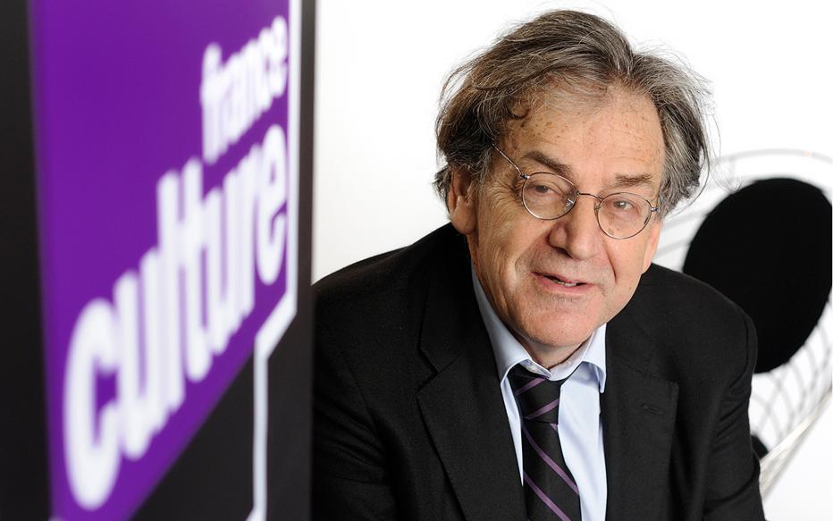 Alain Finkielkraut, normalien et agrégé de lettres, a été élu à l'Académie française en 2014 © P. Rochut