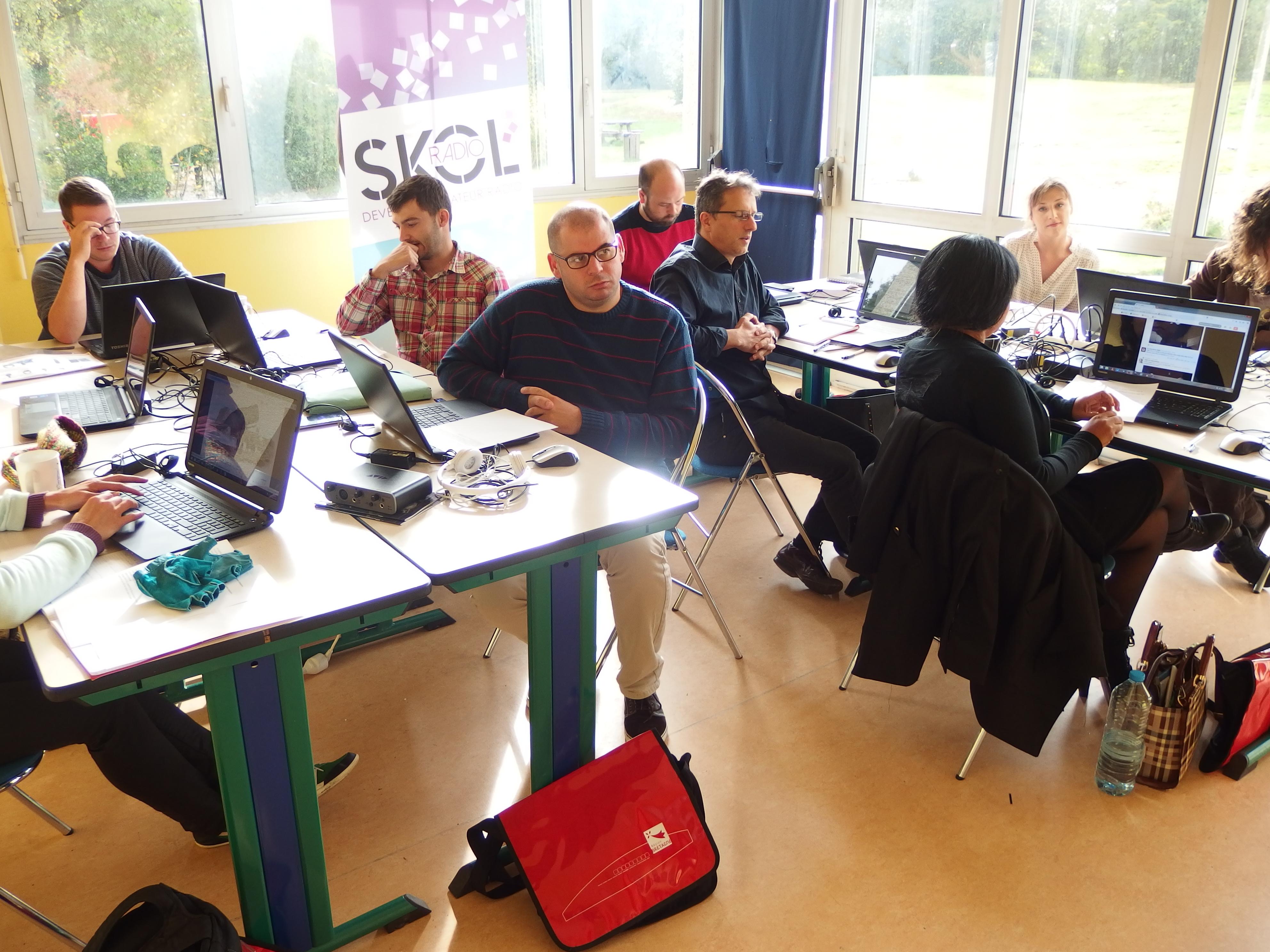 Une première session de formation réussie pour la Skol Radio