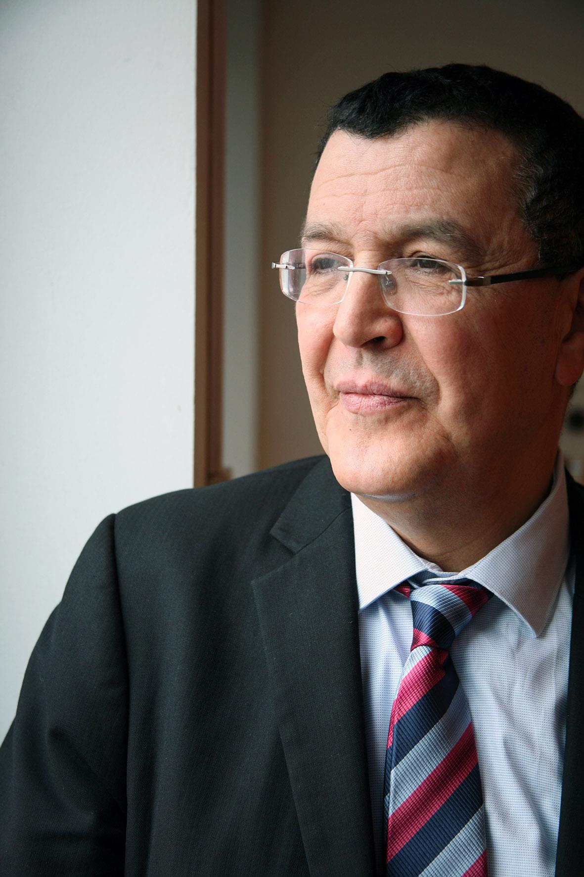 Nacer Kettane, président fondateur du réseau Beur FM
