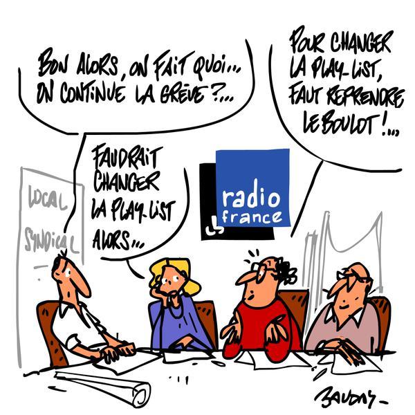 Douzième jour de grève à Radio France