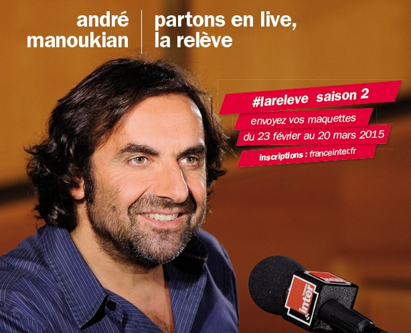 France Inter part en live