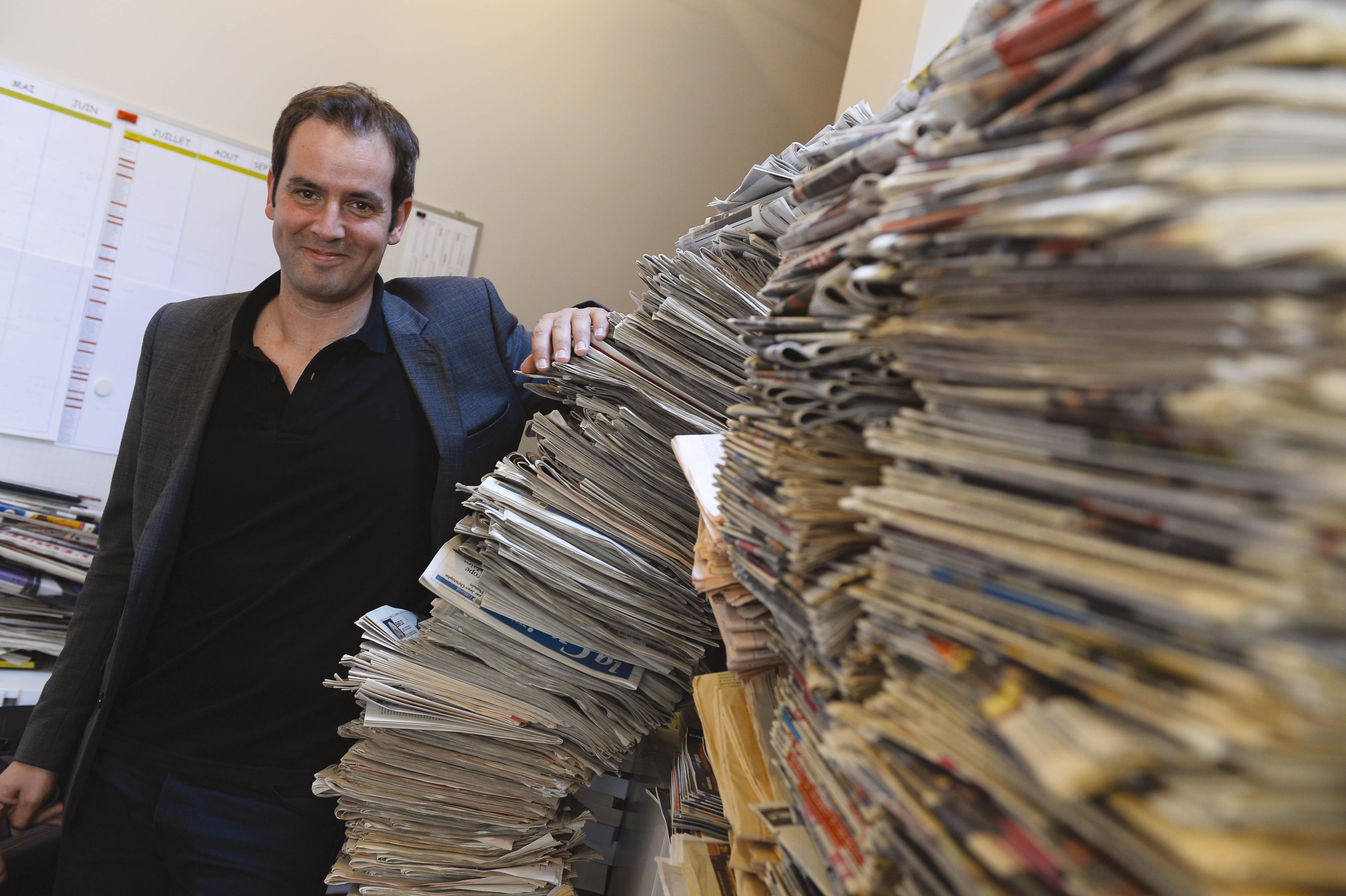 Tanguy Pastureau voulait juste s'amuser en faisant de la radio. Et le voilà sur RTL.
