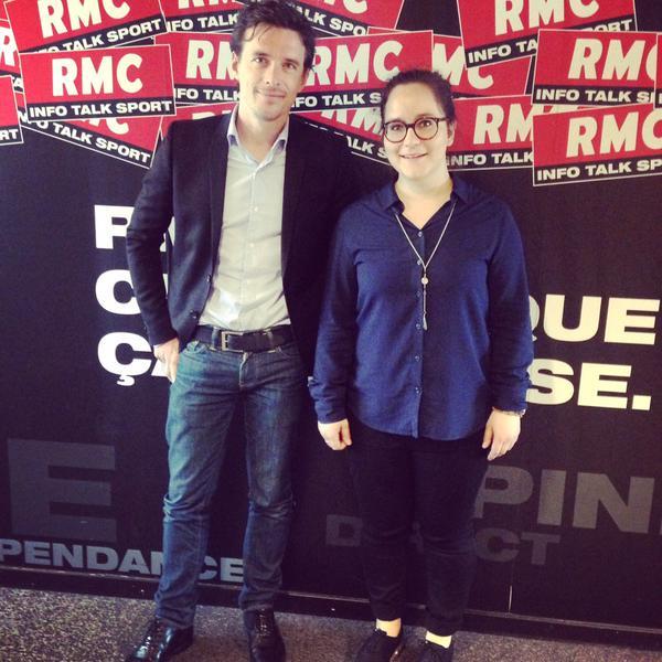 Deux nouveaux jeunes journalistes à RMC