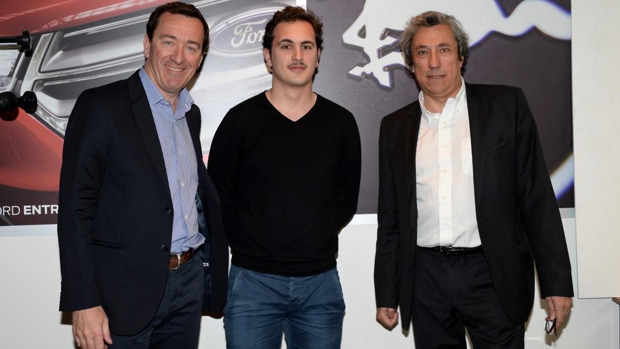François Pesenti, Damien Gozioso et Jérôme Bureau - DR