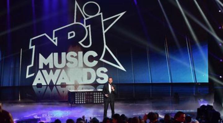 Les NRJ Music Awards à Cannes le 7 novembre