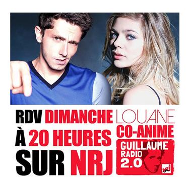 Louane devient co animatrice sur NRJ