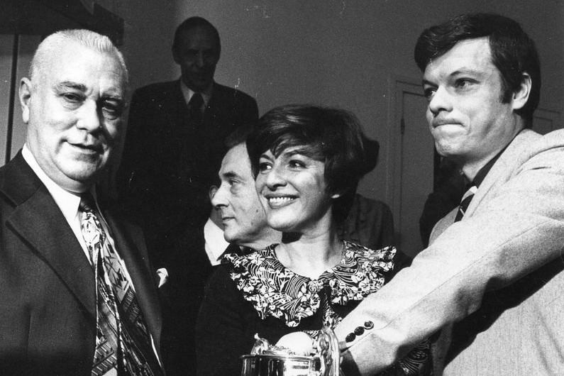 Anne-Marie Peysson avait rejoint l'équipe de RTL en 1968 © Liondartois / Wikimedia Commons