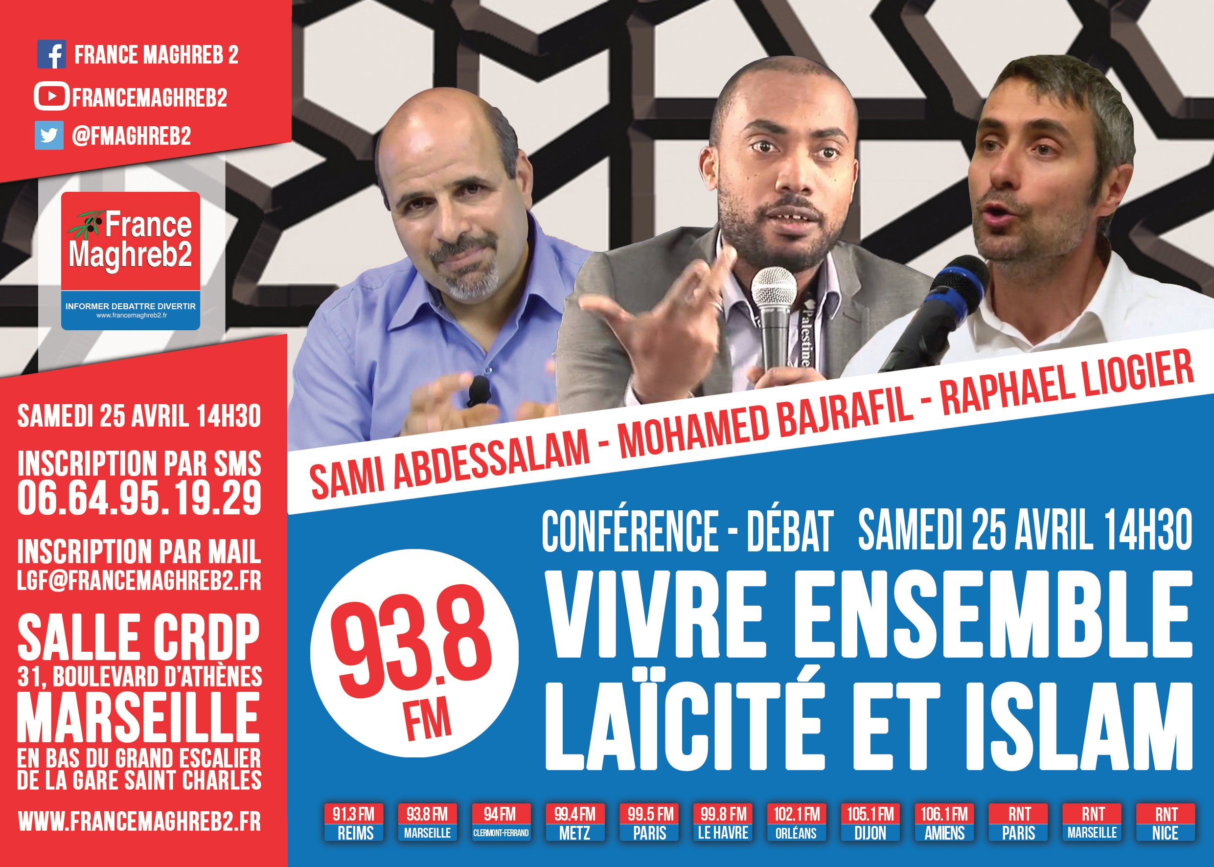 France Maghreb 2 engage le débat à Marseille