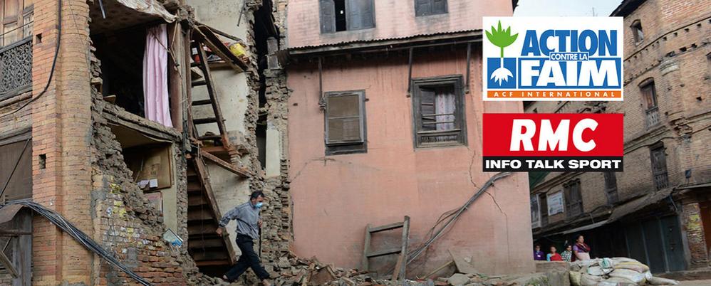 Séisme au Népal : RMC soutient Action contre la Faim