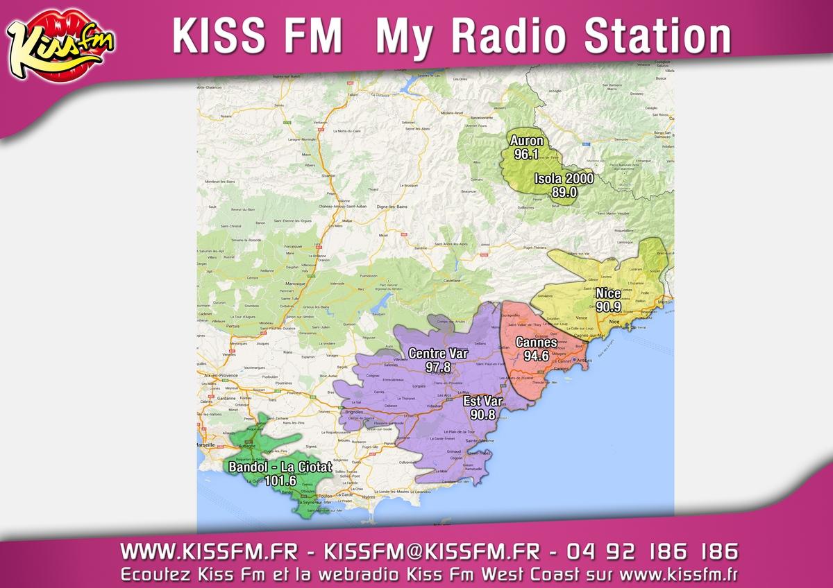 Une septième fréquence pour Kiss FM