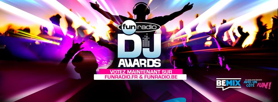 Les Fun DJ Awards en direct de Bruxelles