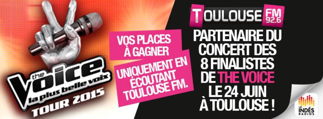 Toulouse FM au Zénith avec The Voice