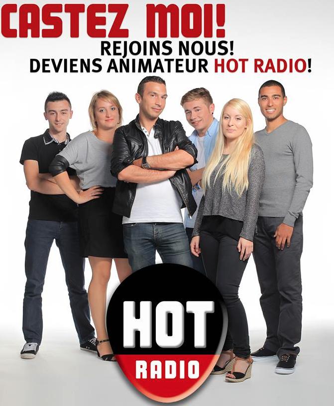 Hot Radio : un casting pour recruter un animateur
