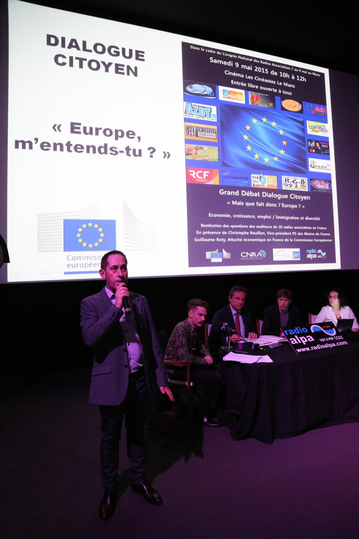 Jean-Yves Breteau au congrès annuel de la CNRA qu'il préside © Serge Surpin