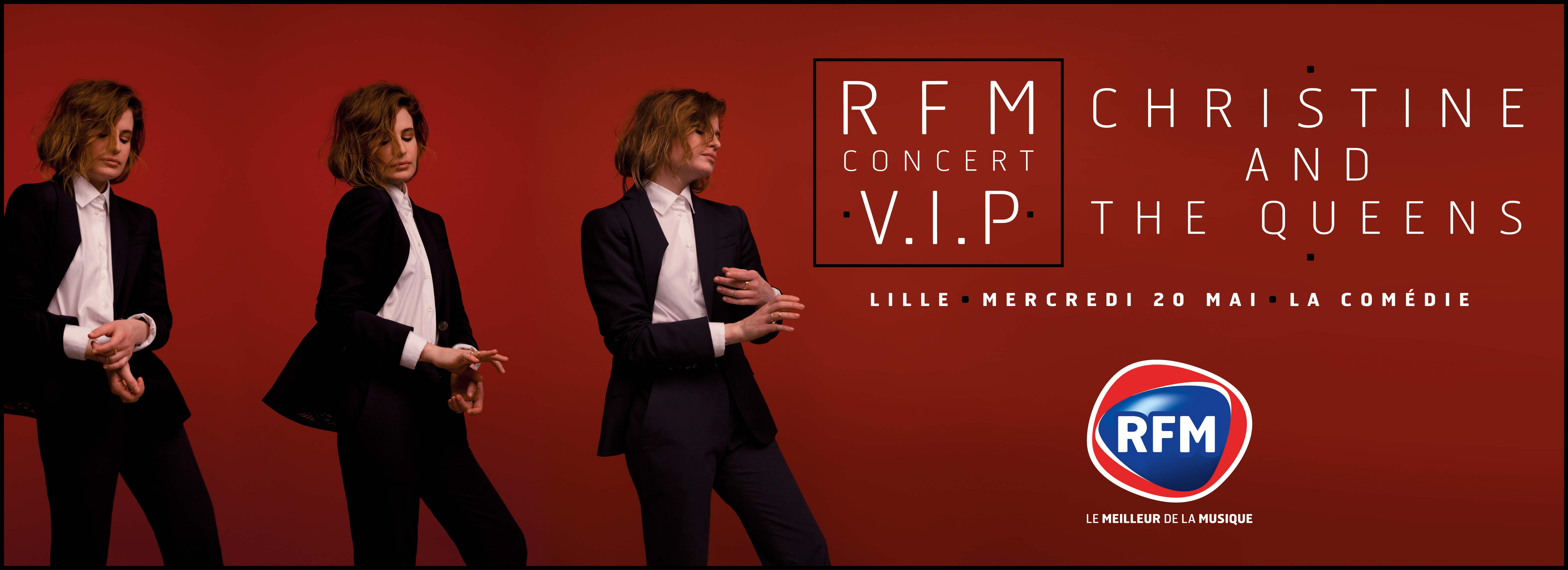 RFM délocalise deux concerts privés