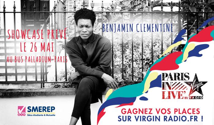 """Nouveau """"Paris in Live"""" avec Virgin Radio"""