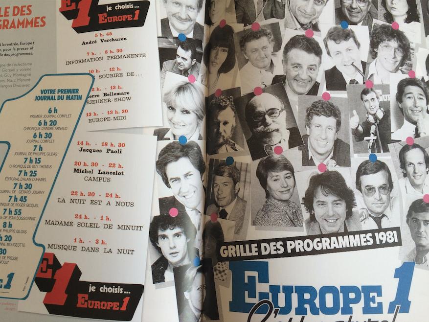 Le Dictionnaire amoureux illustré d'Europe 1 est un bon moyen pour parcourir la riche histoire de la station