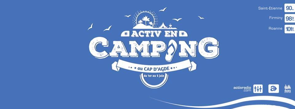Activ Radio s'installe au camping au Cap d'Agde