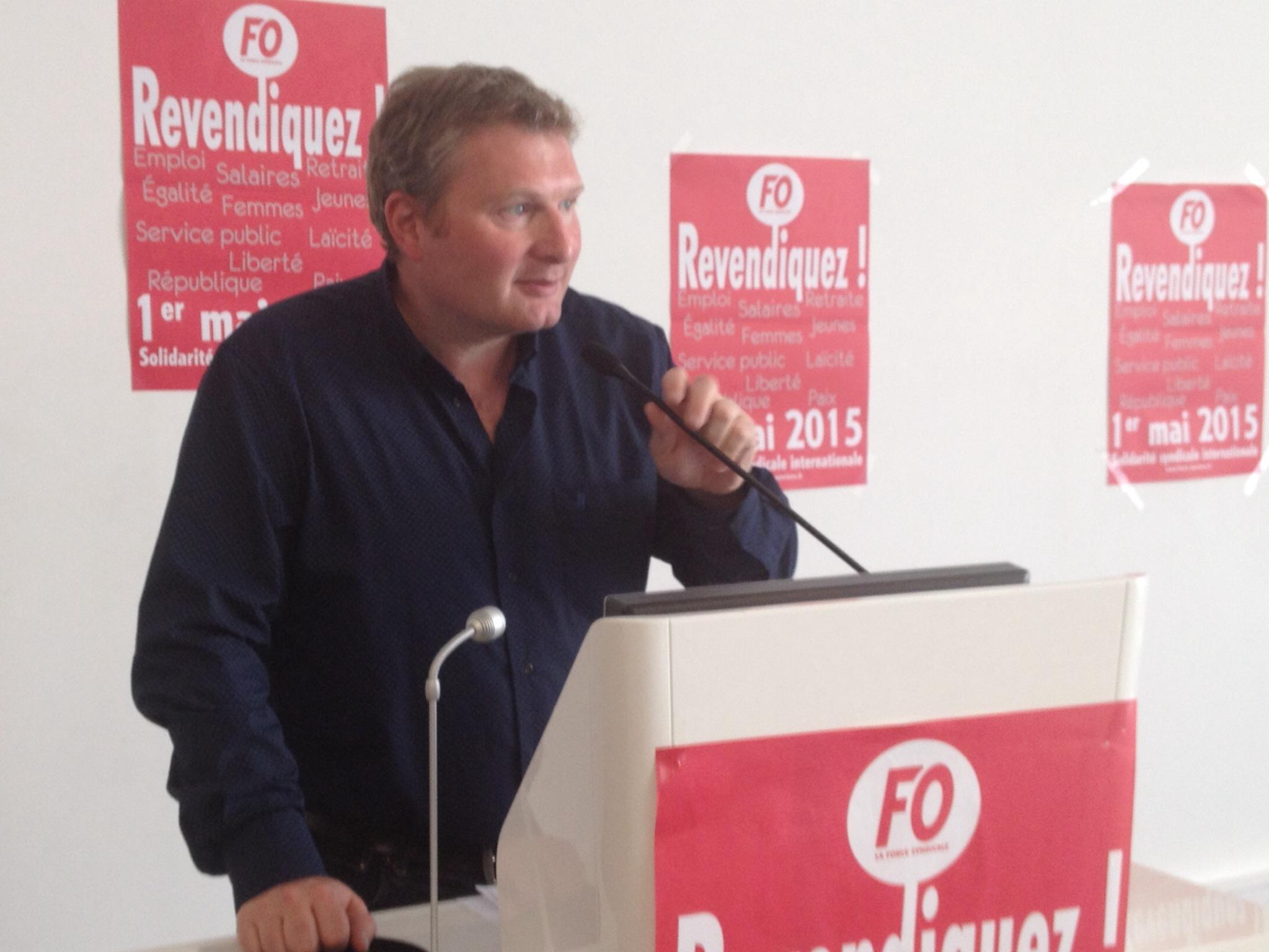 Éric Vial, secrétaire général adjoint du SNFORT. Il promet une campagne de syndicalisation dans les radios