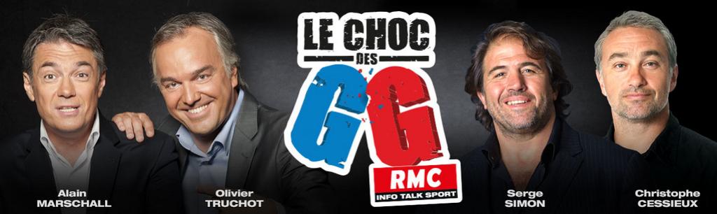 Le Choc des GG, c'est pour le 16 juin sur RMC