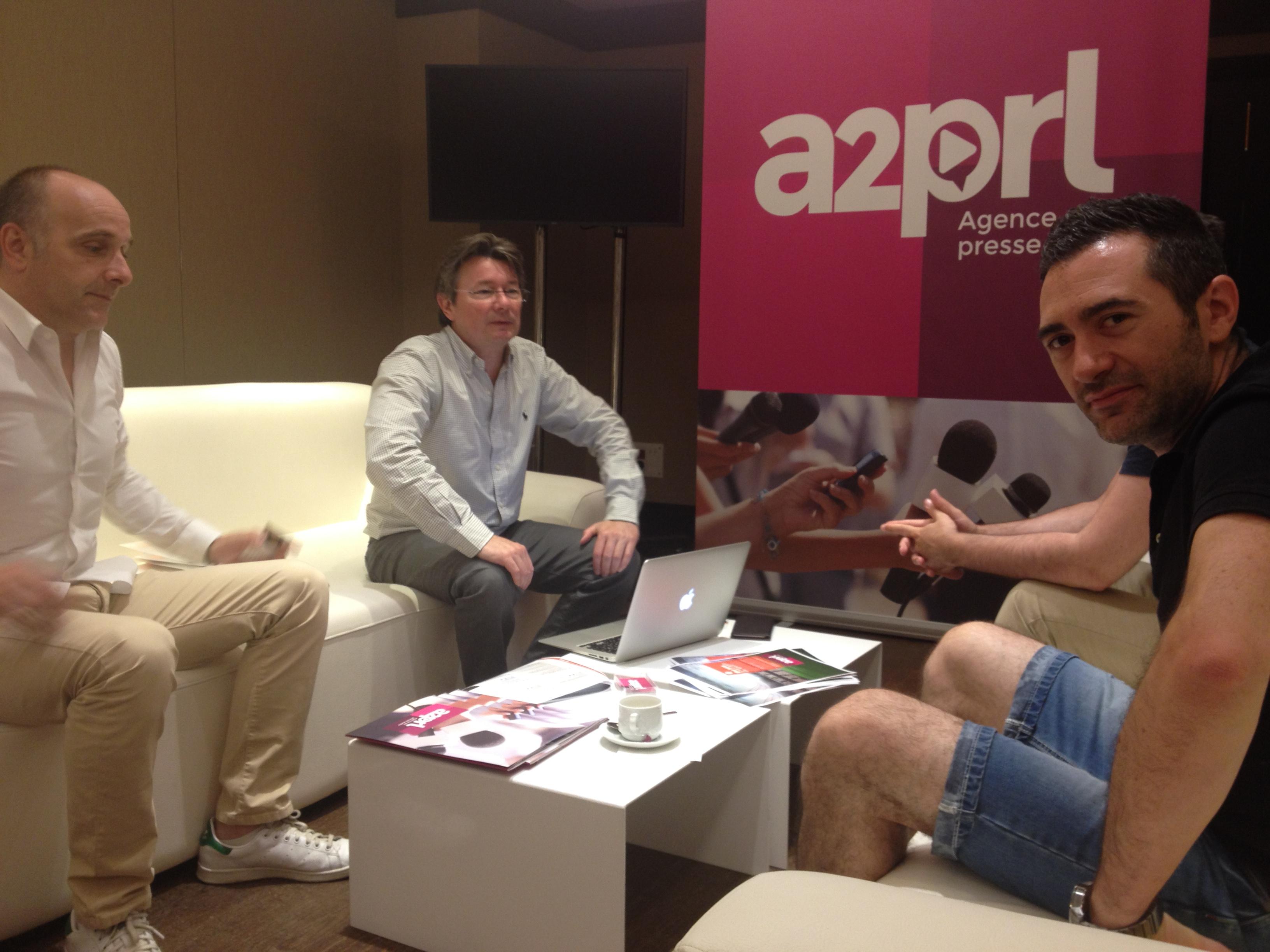Parmi les partenaires de cette convention: A2PRL a présenté ses solutions d'info et ses nouveaux packages.