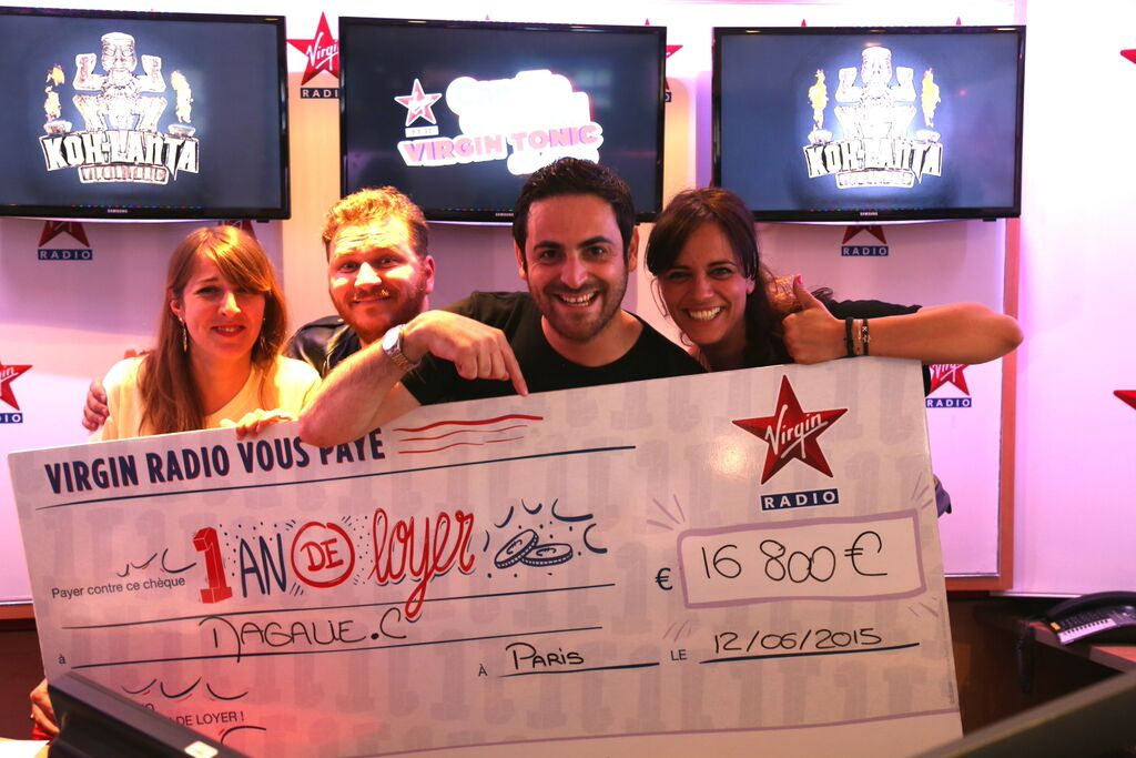 Virgin Radio a offert 45 000 euros de loyers
