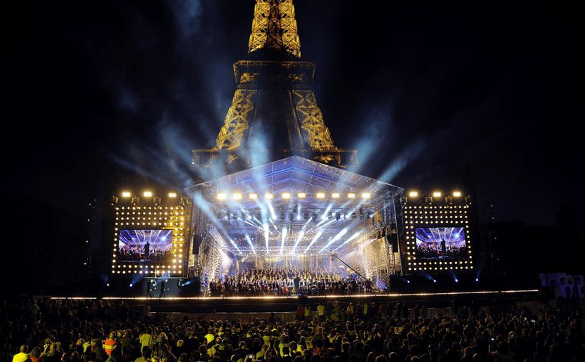Le Concert de Paris avec les voix et les musiciens de Radio France © Radio France / Christophe Abramowitz