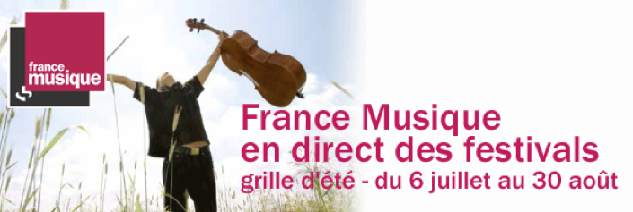 France Musique en direct des festivals