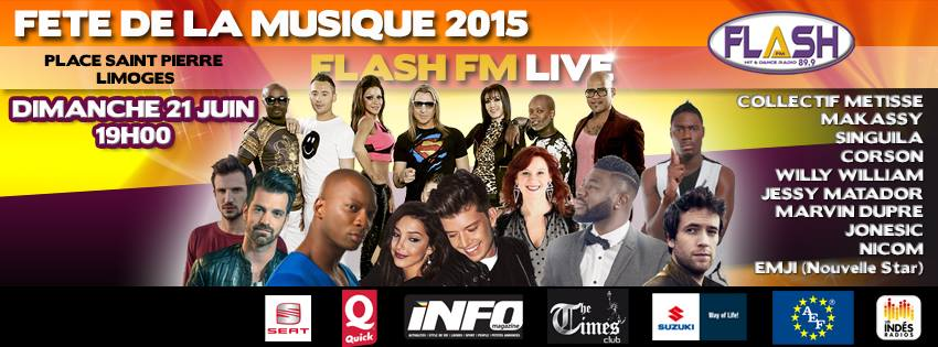 Flash FM fêtera la musique