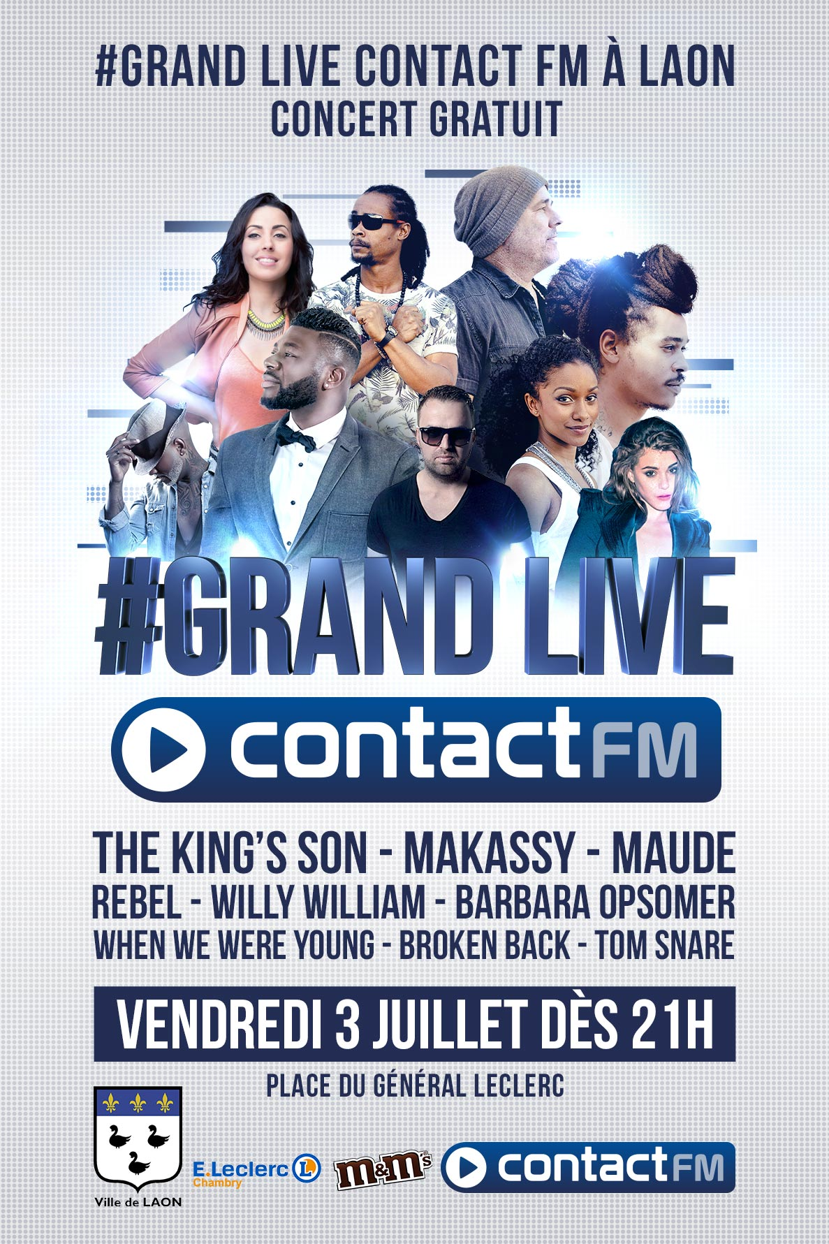 Contact FM prépare un Grand Live à Laon
