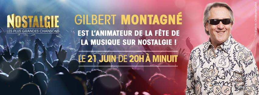 Nostalgie : Gilbert Montagné animera la Fête de la Musique