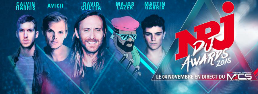 David Guetta lance officiellement les NRJ DJ Awards