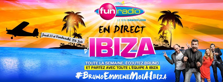 Bruno Guillon s'envole vers Ibiza