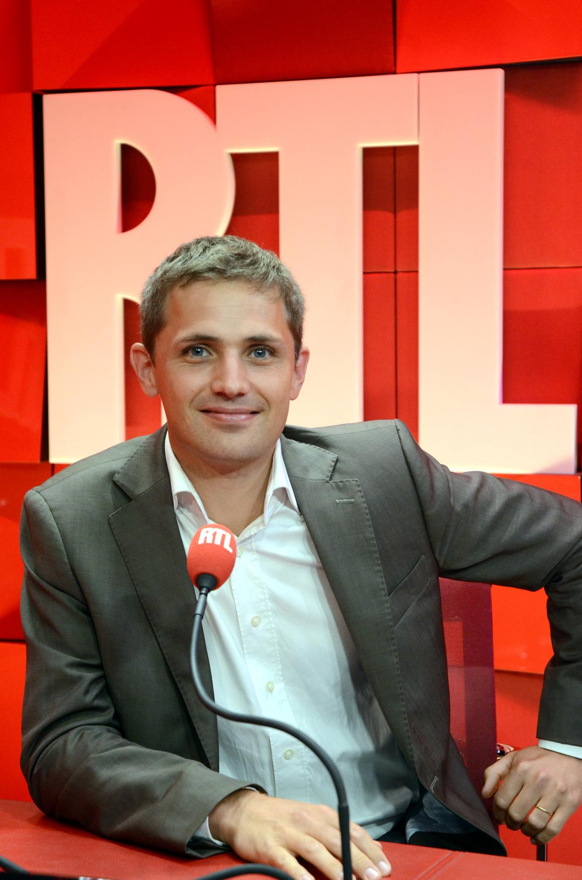 Jérome Chapuis rejoindra la matinale  de RTL dès le 24 août © Abacapress