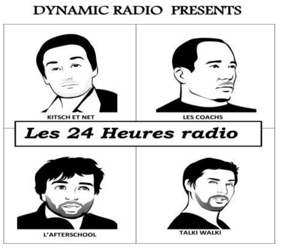 "Dynamic Radio renouvelle ses ""24 heures de radio"""