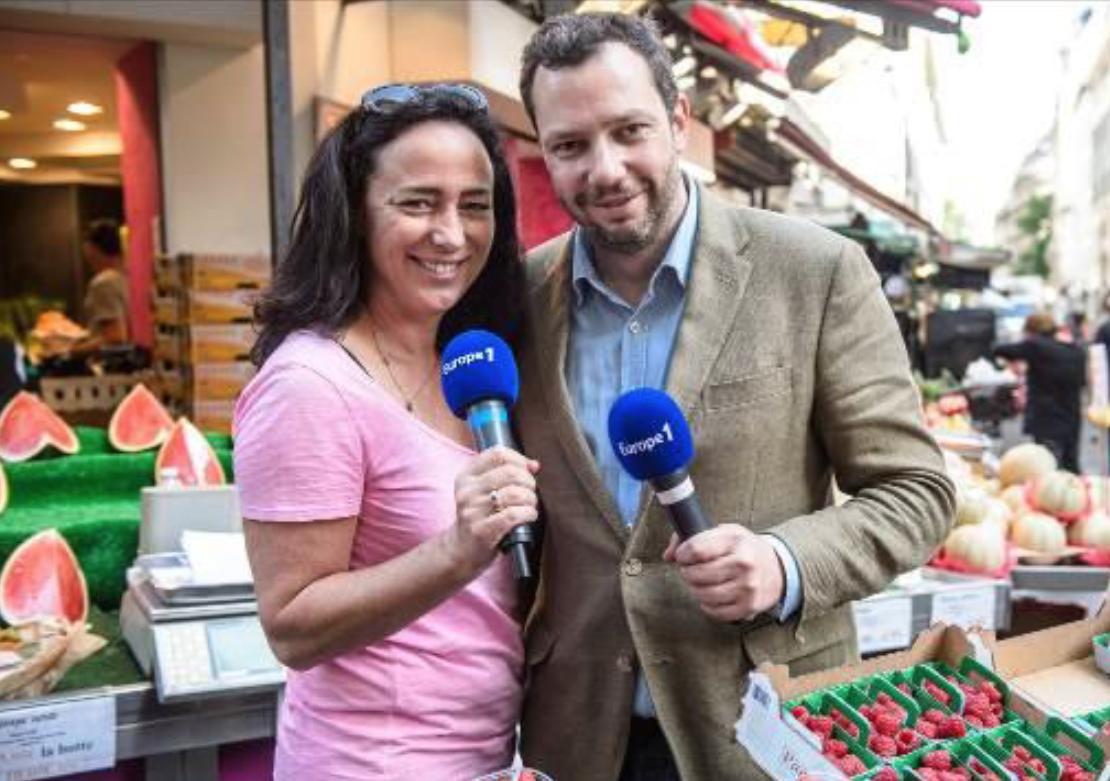 """Helena Morna et Olivier Poels promettent de réveiller les papilles des auditeurs avec """"L'été gourmand d'Europe 1"""""""