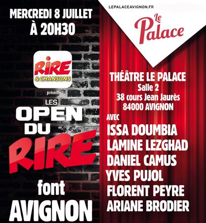 Rires & Chansons en direct du Festival d'Avignon
