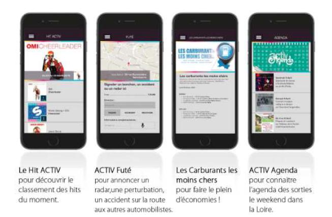 Nouvelles fonctionnalités pour l'appli d'Activ Radio