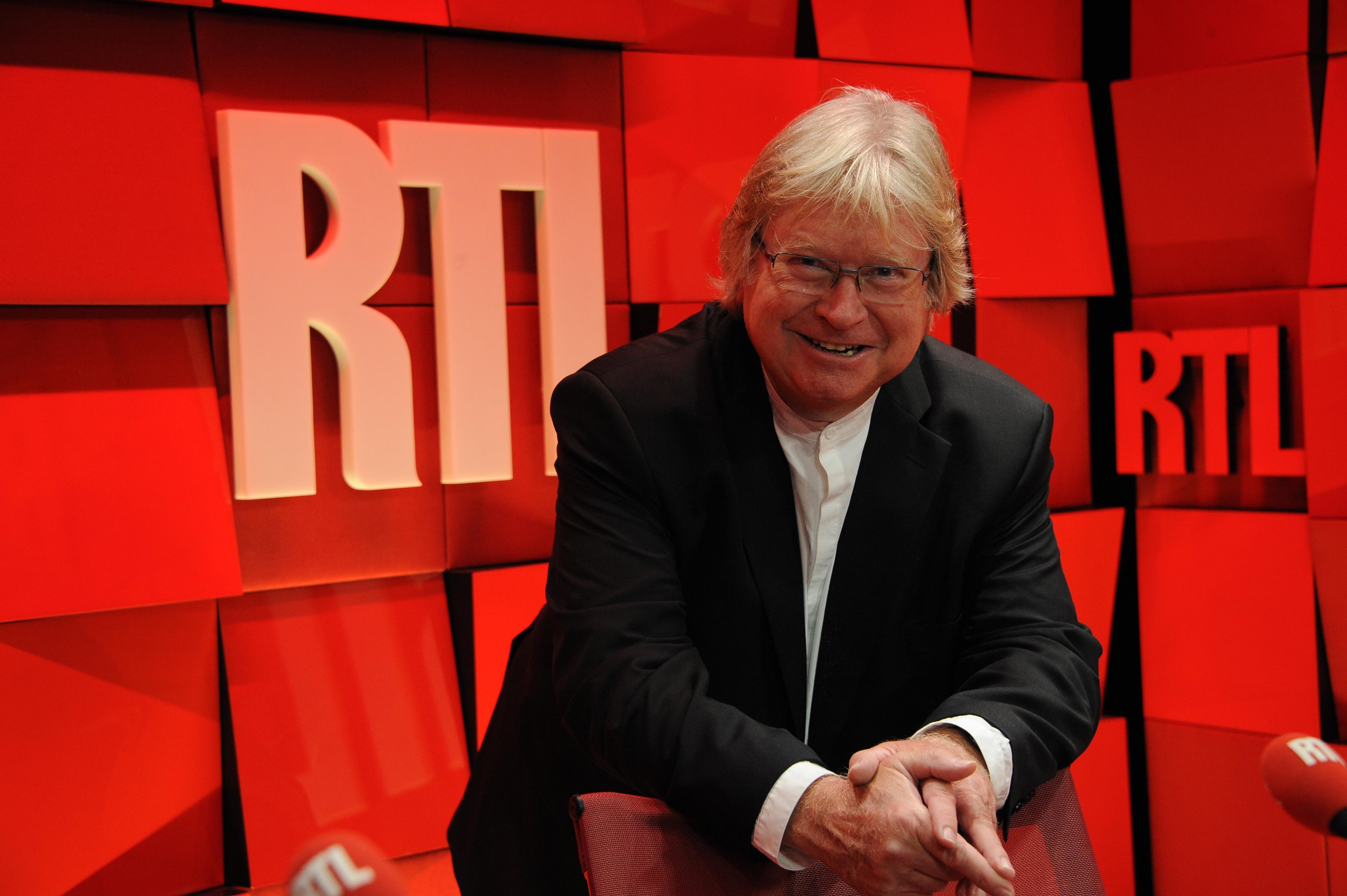 André Torrent est passé par Europe1, RMC, et même... Le Journal de Tintin. Mais c'est sur RTL qu'il fera l'essentiel de sa carrière. (Photo abaca press pour RTL)