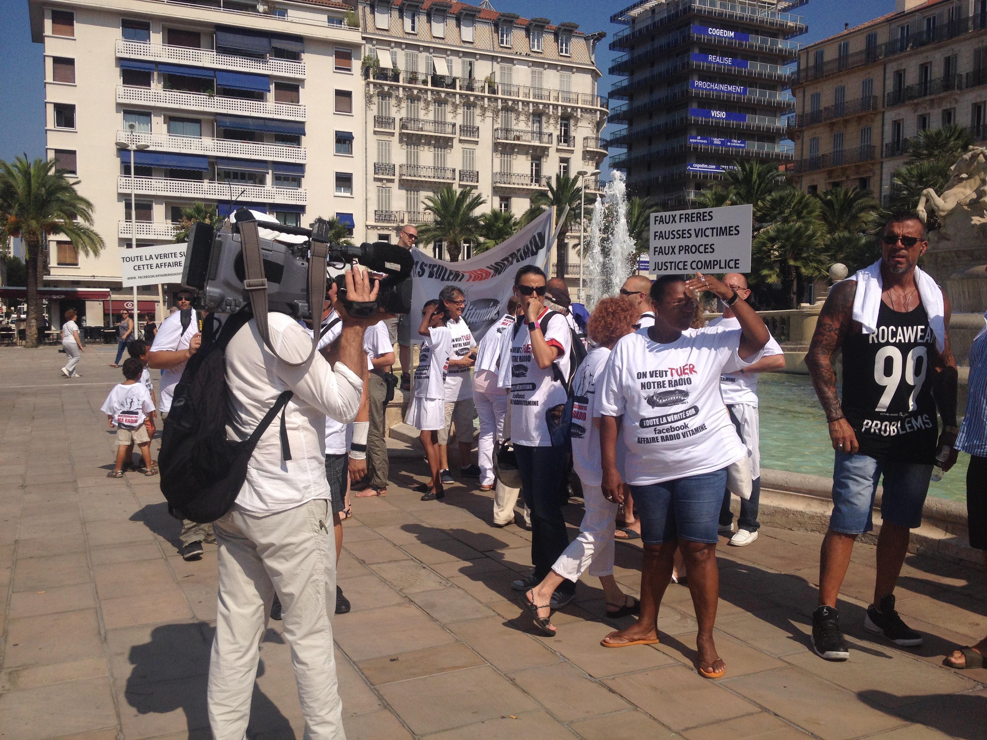 Radio Vitamine manifeste son inquiétude à Toulon