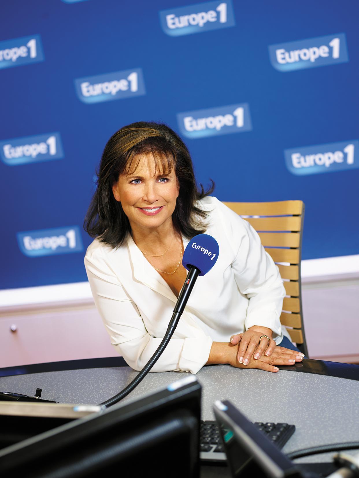 Le quart d'heure (8h30 – 8h45) de L'interview d'Anne Sinclair est le plus écouté de la station © Vision by AG